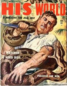 HIS WORLD, August 1953. (Artist uncredited.) by SubtropicBob, via Flickr