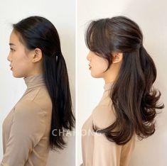 Medium Hair Styles, Short Hair Styles, Haircuts Straight Hair, Long Layered Hair, Aesthetic Hair, Hair Transformation, Hair Dos, Pretty Hairstyles, Dyed Hair