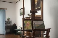 Anna Ancher's studio in the couple's home at Markvej in Skagen