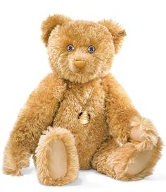 Steiff 125 Karat Teddy Bear : JustTeddies.co.uk