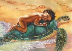 janet stewart- Kauila the Hawaiian legend of the Sea turtle, watcher and protector of children.