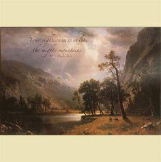 Half Dome, Yosemite Valley - Psalm 36:6 – ChristianGiftsPlace.com Online Store