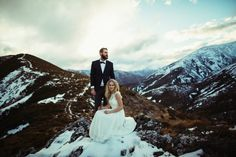 Maggie and Nate Photo: Andrew Hewson New Zealand, Mount Everest, Mountains, Bergen
