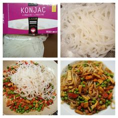 My first try konjac noodles. Texture is too gummy for me :p but only 7kcal/100g. #lowcarb #japanese #veganfood #vegan #gummy #konjac #konjacnoodles #konjacnudeln by doris_r_