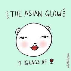 Yup. This is it. This is me every night. .  .  #asianglow #drunk #asian #wino #winelover #tonight #ilovewine #asianstyle #instagood #instaartist #silly #goofy #teddybear #인스타그림 #술 #내얼굴 #술꾼 #와인 #취하고 #곰돌이 #뚱 #아시안