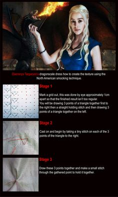 This website shows you the embroidery done on the costumes from Game of Thrones DRANGONSCALE PAGE 1 FINAL.jpg (768×1276)