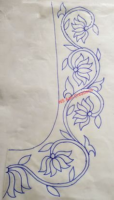 Peacock Embroidery Designs, Hand Embroidery Design Patterns, Hand Embroidery Videos, Embroidery Works, Hand Embroidery Patterns Flowers, Hand Embroidery Stitches, Machine Quilting Designs, Drawing, Painting