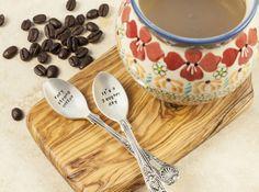 Personalised Coffee Spoon Set