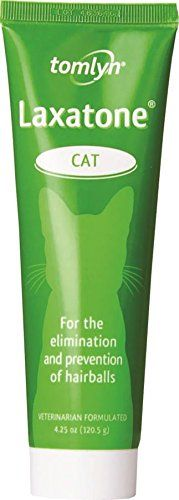 Vetoquinol Laxatone Paste for Eliminating cat Hairballs, 4.25-Ounce >>> Save this wonderfull item : Cat Health and Supplies