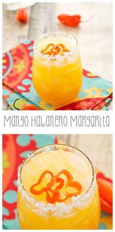 Mango Habanero Margarita #MargaritaDay