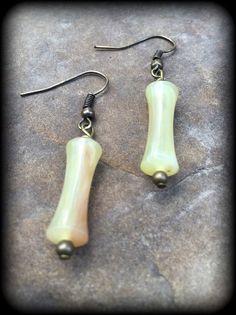 Vintage Bead Earrings by brendalou2 on Etsy