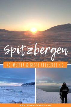 Spitzbergen Kurztrip im Winter – wie wird das Wetter und wann ist die beste Reisezeit? Die unberührte Natur mit ihrer atemberaubenden Landschaft und die Tiere der Arktis erleben, bei einem Spitzbergen Urlaub im Winter. Wetter und beste Reisezeit für einen Spitzbergen Trip im Winter. Hotels, Tipps, Sehenswertes, Aktivitäten, Touren und Reiseberichte sowie Infos zu den Nordlichtern auf www.gindeslebens.com #Spitzbergen #Arktis #Norwegen #Winter Longyearbyen, Tromso, Gin, Outdoor, Beach, Inspiration, Adventure Travel, Wish List, Outdoors