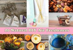 20 Natural DIY Air Fresheners
