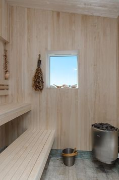 swedish boathouse sauna / via gardenista