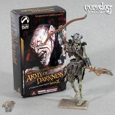 Army of Darkness Figure Deadite Archer Skeleton Warrior Palisades Evil Dead 2005 #Palisades