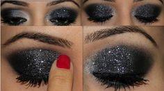 como pintarse los ojos al estilo ahumado en 3 minutos - Pintarse Los Ojos