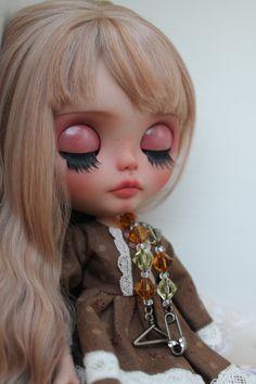 RESERVED Danae Custom Blythe Doll OOAK Arrt by NDsDazzlingDollys