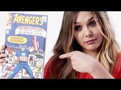 Elizabeth Olsen Explains The Origins Of The Scarlet Witch | Allure - YouTube