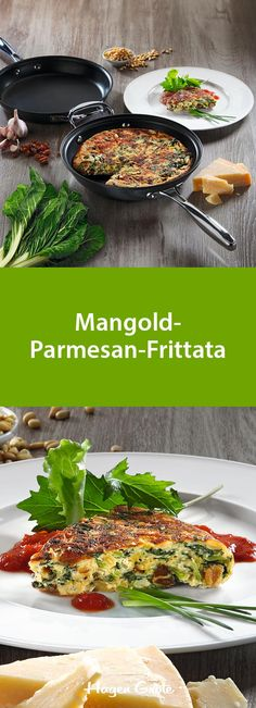 Mangold-Parmesan-Frittata