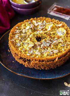 Ghevar Recipe-Indian Sweet