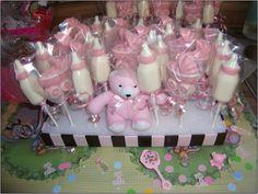Chocolate Teddy Bear With Bow Tie Lollipop... Baby Shower Candy Favors....  Www.rosebudchocolates.com | Baby Shower * Chocolate Candy Party Favors ...