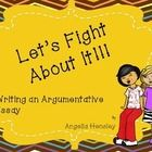 WANT TO ARGUE ABOUT IT?  This presentation will give students instructions about writing an argumentative essay.  It has intructions for what is re...