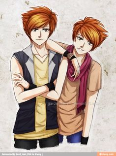 Is it bad that even in fan art I can tell who is who.