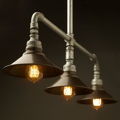 Plumbing Pipe Lights wall and pendant
