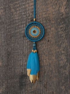 Your place to buy and sell all things handmade Dream Catcher Jewelry, Dream Catcher Decor, Small Dream Catcher, Dream Catchers, Indian Arts And Crafts, Diy And Crafts, Sea Turtle Facts, Los Dreamcatchers, Goose Feathers