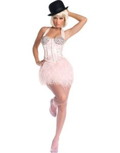 Sexy Burlesque costume from the movie (: maybe my costume for halloween ! It's like $200 but I bet I could make this, it would just take some work :)