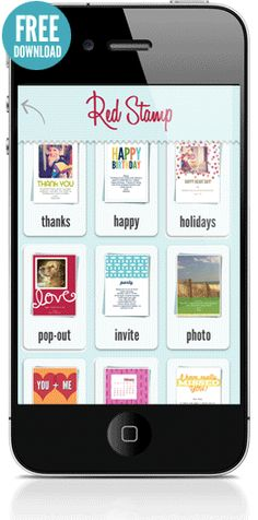 email, text, tweet, facebook, and paper mail personalized photo cards, notes, invitations + announcements right from your iPhone, iPad  or iPod Touch.