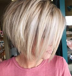 Stacked Bob Hairstyles, Short Hairstyles For Thick Hair, Hairstyles Haircuts, Short Hair Cuts, Hairstyles Videos, Wedding Hairstyles, Braided Hairstyles, School Hairstyles, Pixie Haircuts
