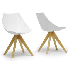 The White Bucket Chair features an ultra modern design with a completely single molded bucket designed glossy polycarbonate seat. This chair also has a 4 legged natural wood minimalist design that will compliment your modern style. Place this chair in any space from the kitchen table to the living room or office. Available in Glossy […]