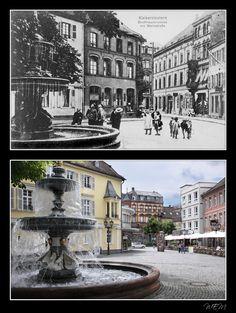 St. Martinsplatz einst und heute
