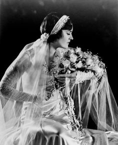 Beautiful Bride 1920's