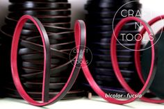 New-Regaliz-Bicolor-Natural-Leather-Cord-10-x-4-5mm-leather-bracelet-wrist-strap