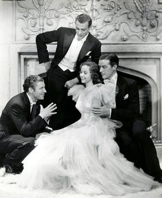 Gary Cooper, Ray Milland, Robert Preston and Susan Hayword