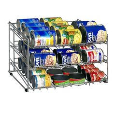 """Features: -Shelves pulls out for easy organisation. Color: -Chrome. Dimensions: Overall Height - Top to Bottom: -12.75"""". Overall Width - Side to Side: -18"""". Overall Depth - Front to Back: -15.88"""""""
