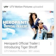 """#BBXclusiveTrailer Checkout Exclusive """"Heropanti Official Trailer 