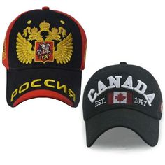 93c74788ceb RUSSIA CANADA ENGLAND Baseball Cap dad Hat for Men Women Snapback bone snap  back