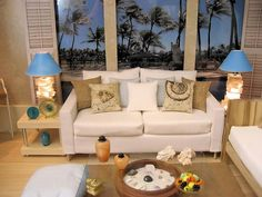 Doll Divas - Diorama Portfolio - you won't believe how easy it is to make shutters - picture it