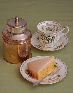 lemon and orange cake - jamie oliver