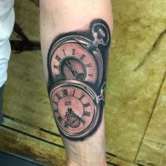 two pocket watch tattoo - Google Search