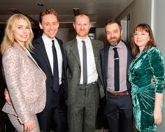 Tom Hiddleston, Birgitte Hjort Sorensen, Deborah Findlay, Mark Gatiss, Hadley Fraser and Josie Rourke attend the after party on the press night of 'Coriolanus' at The Hospital Club on December 17, 2013 in London. Source: http://torrilla.tumblr.com/post/70418285656/tom-hiddleston-birgitte-hjort-sorensen-deborah
