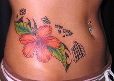 Exotic Flower Tattoos | Exotic Flower Tattoos