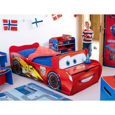 boy toddler beds | toddler bed snuggle up to sleep with your favourite character this bed ...