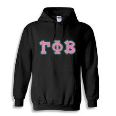 Gamma Phi Beta Bubble Twill Hooded Sweatshirt from GreekGear.com