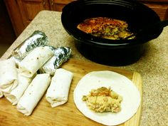 Do your mornings differently with this tip. Crock up a breakfast egg casserole and use it to make breakfast burritos. Either keep them wrapped up in the fridge or you can freeze them too. In the morning, grab and quickly heat up one for the hubby, two for the kids and one for yourself! Everyone will start their day with protein to keep their day going strong and you'll feel like a millionaire mom (feeding her family on a budget).
