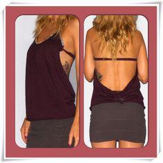 homemade backless shirt