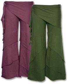Jersey wide-legged trousers -love this type of pant